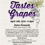 2nd annual Tastes and Grapes to Benefit WMVFC