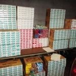 MDTA Police intercept over 8K packs of untaxed cigarettes on I-95