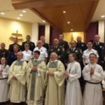 St. Isaac Jogues in Parkville holds Blue Mass (VIDEO)