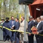 Jericho Road Covered Bridge rededicated, reopened