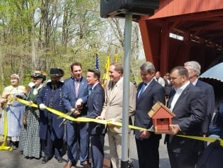 Jericho Covered Bridge Reopening 1
