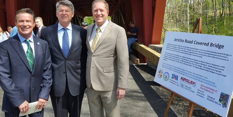 Jericho Covered Bridge Reopening 2