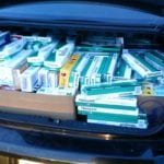 MDTA Police intercept nearly nearly 4,000 packs of untaxed cigarettes on I-95