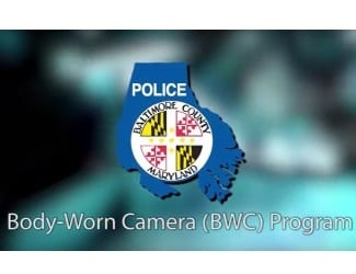 Baltimore County Police Body Cameras