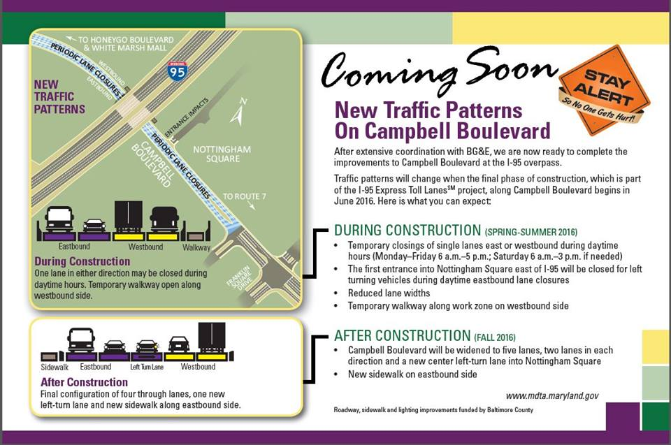 Campbell Boulevard Widening 2