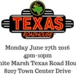WMVFC to hold fundraiser at White Marsh Texas Roadhouse on 6/27
