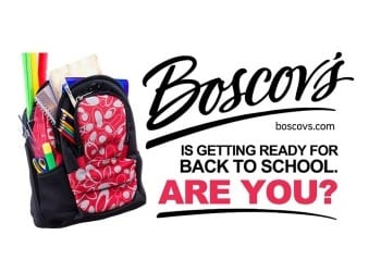 Boscov Back to School