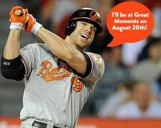 Chris Davis Great Moments 201608