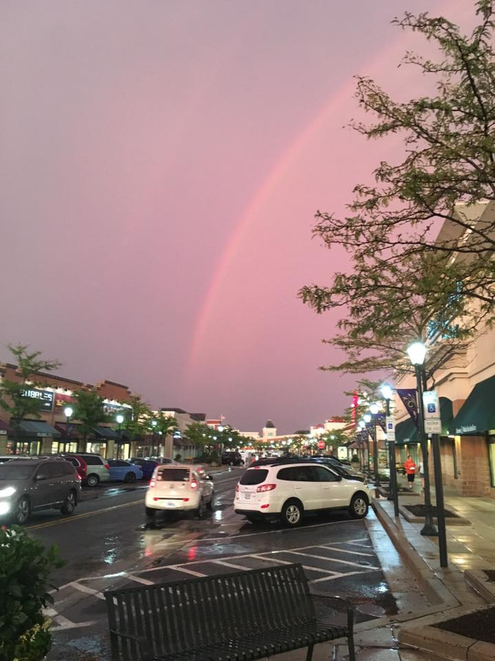 Rainbow over The Avenue