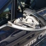 Side-view mirrors being stolen along Seven Courts Drive