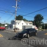Philadelphia Road closed due to crash in Joppa