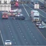 Southbound I-95 closed due to crash