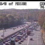 Crash along NB I-95 snarls afternoon traffic
