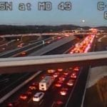 Crash on I-95 snarls evening commute