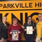 Parkville High student wins grand prize in Maryland Youth Art Month Flag Contest