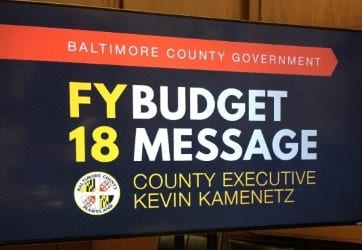 FY18 Budget Baltimore County