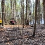 Crews battling Glen Arm brush fire