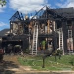 Major house fire reported in Carney