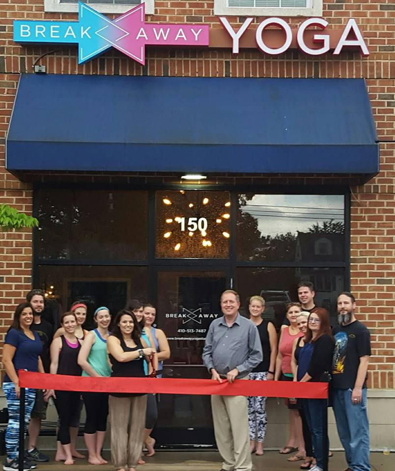 BreakAway Yoga Studio Grand Opening