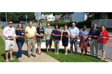 Perry Hall Crosswalk Ribbon Cutting