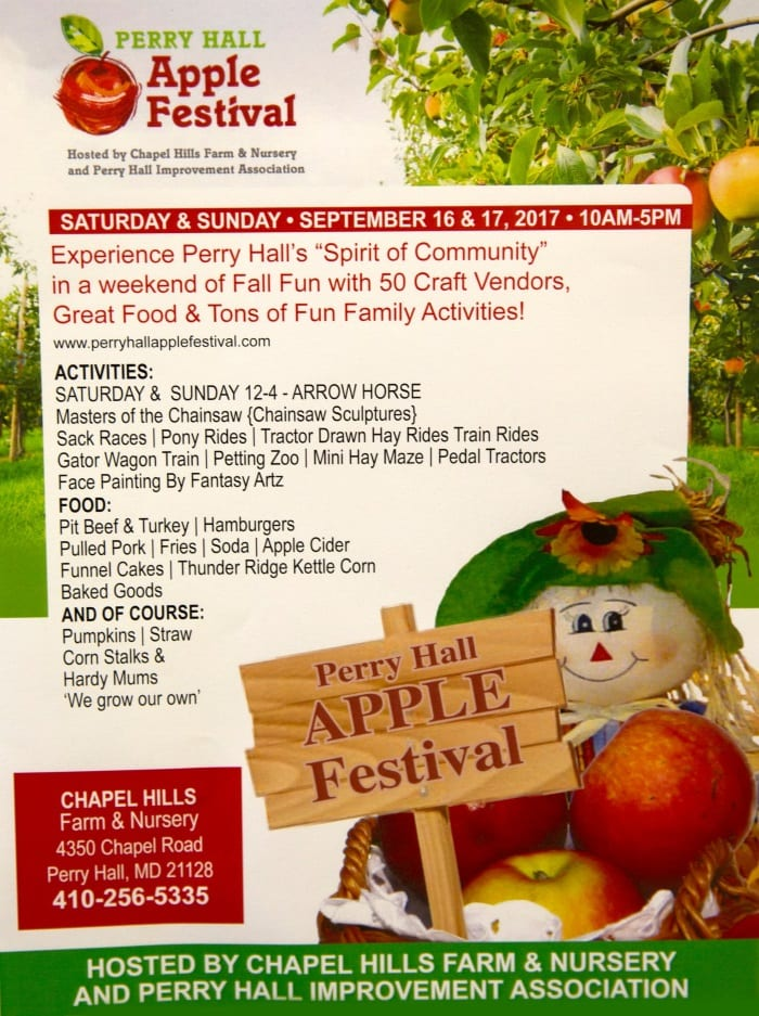 Perry Hall Apple Festival 2017