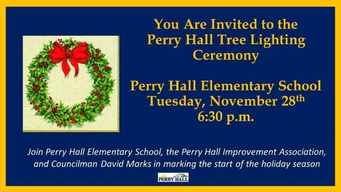 Perry Hall Tree Lighting