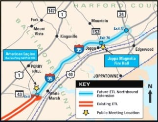 I-95 ETL Extenstion Meetings