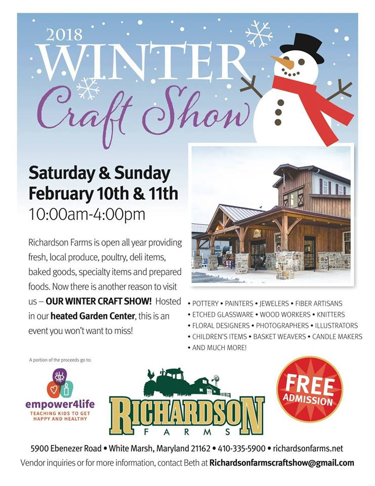Richardson Farms 2018 Winter Craft Show