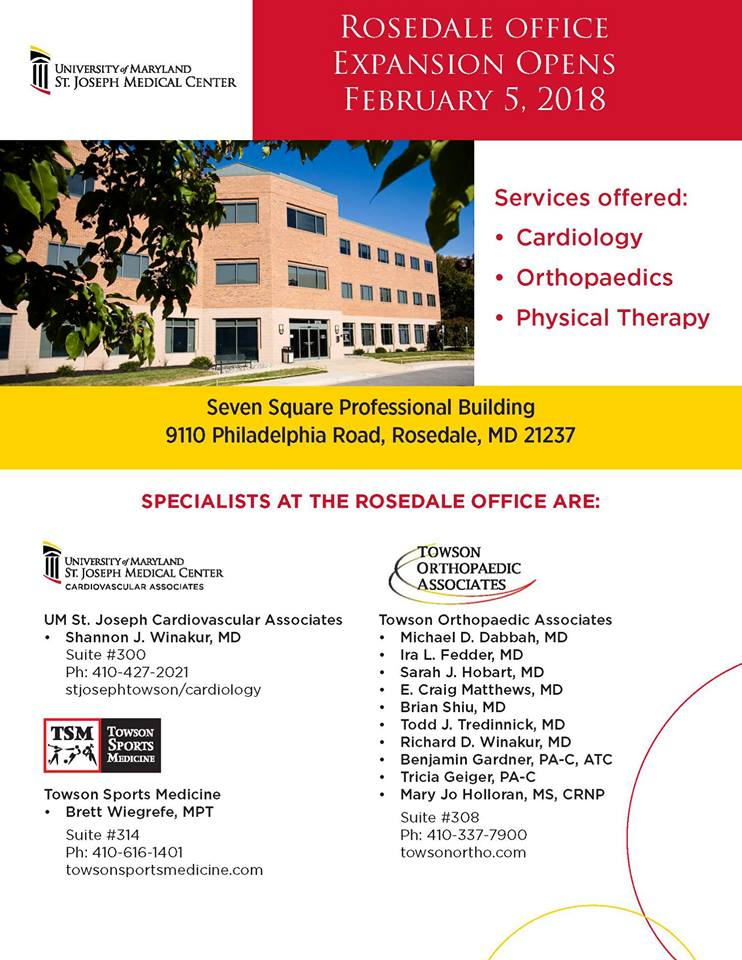 Towson Sports Medicine Rosedale 01