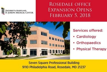 Towson Sports Medicine Rosedale Thumb