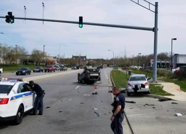 Campbell Boulevard Crash 20180423