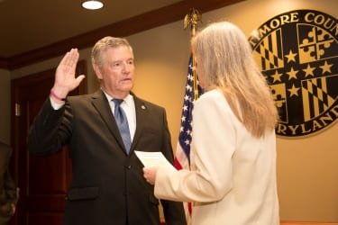 Don Mohler Swearing In