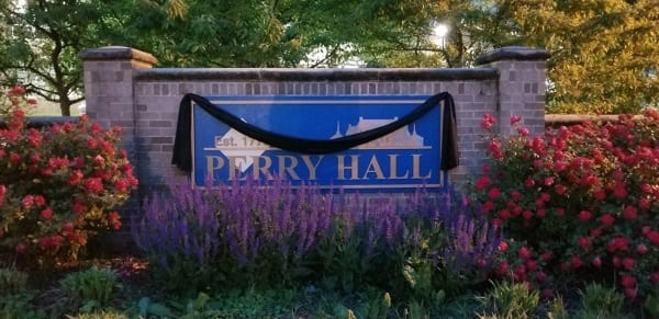 Perry Hall Mourning Bunting