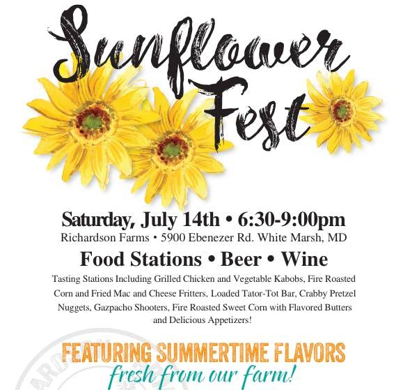 Sunflower Fest 2018