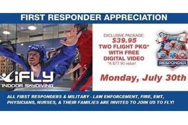 iFly First Responders 2018