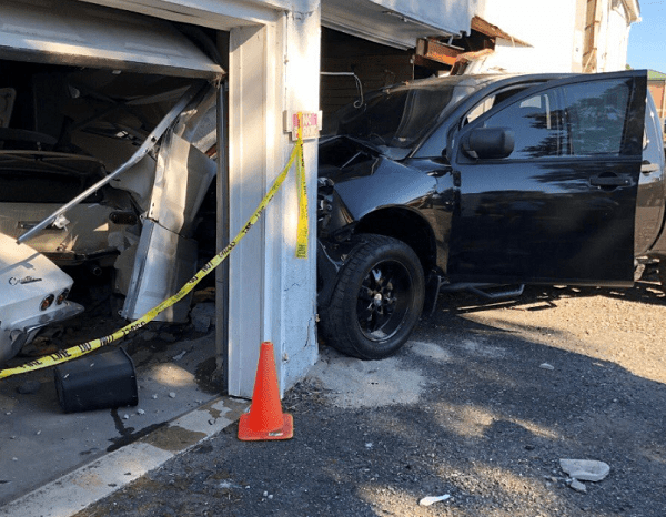 Vehicle vs Building Joppa 20180708-1