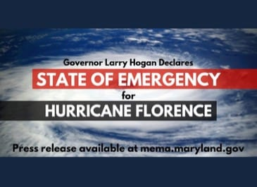State of Emergency Maryland Florence