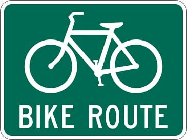 Bike Bicycle Cycling Sign