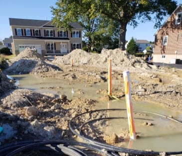 Snyder Lane Water Main Break