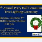 Perry Hall Tree Lighting 2018