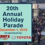 The Avenue Holiday Parade 2018