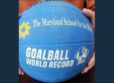 Maryland School Blind Goalball