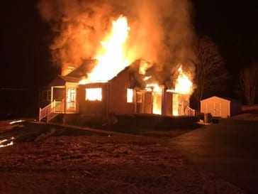 Perry Hall House Fire 20190314