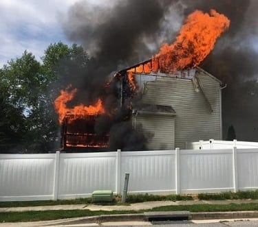 Hanf Avenue House Fire